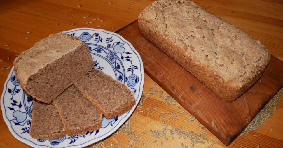 kváskový chléb bez hnětení